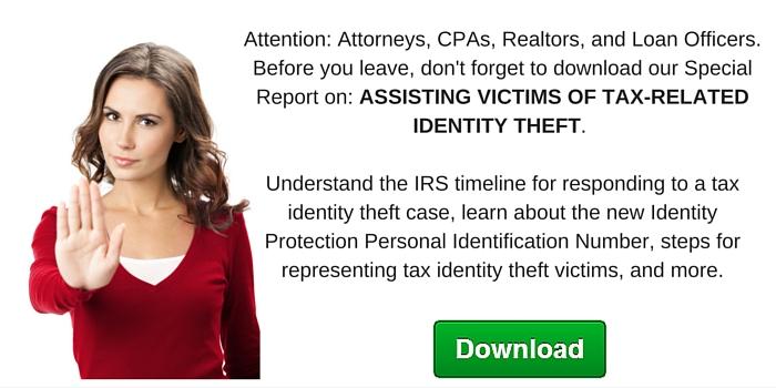 Free Identity Theft Report